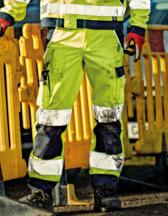 High Visibility Industry Trousers EN20471